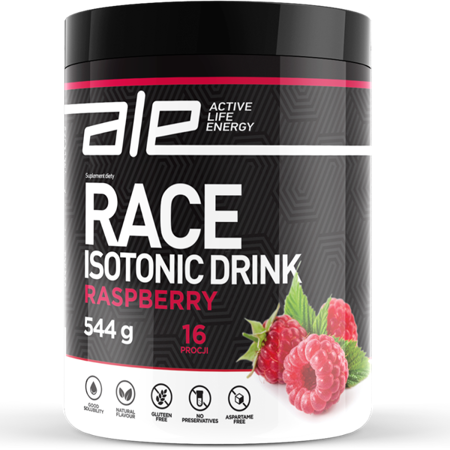 Ale Race Isotonic Drink - malina - ALE