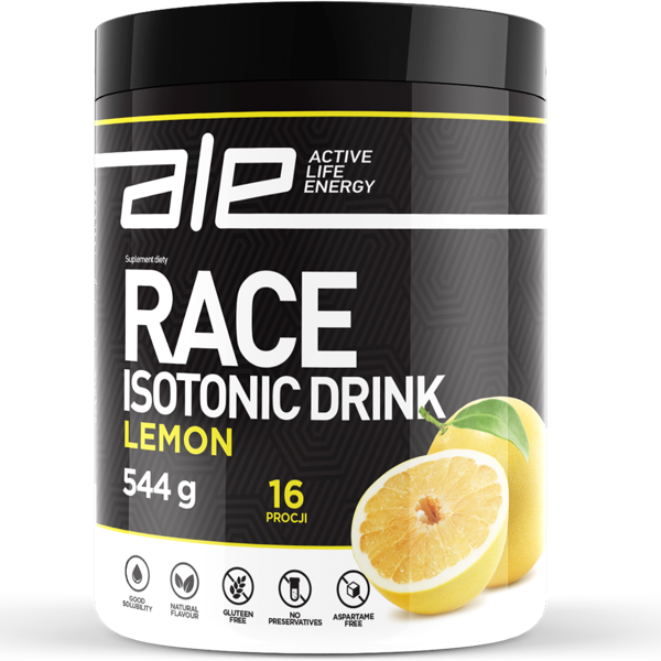Ale Race Isotonic Drink - cytryna - ALE